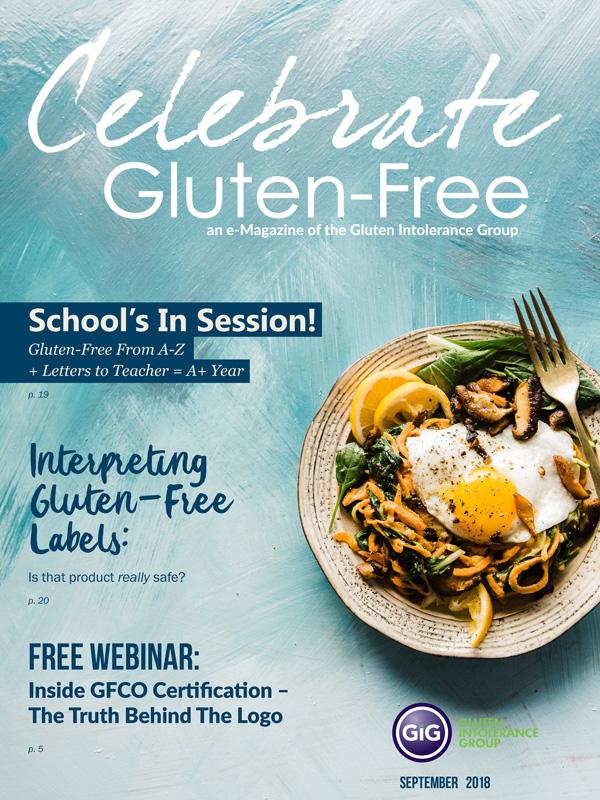 Celebrate Gluten-Free from the Gluten Intolerance Group